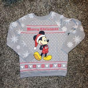 Disney Mickey Christmas Sweatshirt size M